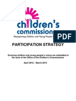 Children's Commissioner for England Participation Strategy 2012-13