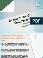 Intervista a Luigi Curiotto