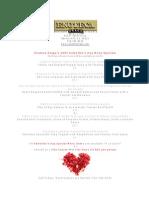 Enoteca Drago Valentines Day Beverly Hills