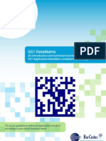 GS1 DataMatrix Introduction & Technical Overview