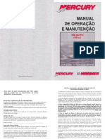 Manual de Proprietario Do Motor de Popa Mercury 25HP Seapro A