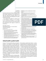 Global health is Public Health