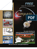 Compass Magazine Jan 15th, 2009 Saskatchewan