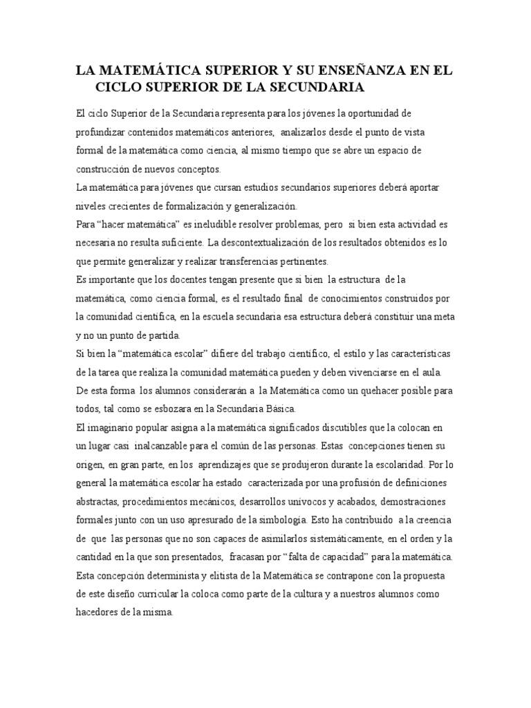 5 Matematica - Ciclo Superior 5nov09