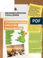 Final report on Manchester ChangeMakers Neighbourhood Challenge