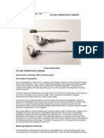 Rtd and Thermocouple Sensors