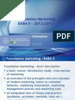 Foundation Marketing Intro