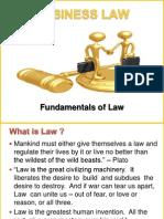 Bl - Fundamentals of Law -New