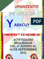 Actividades Semanales, Notas de Prensa 27-08-12 AL 02-09-12