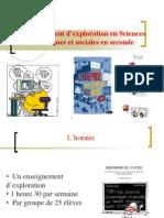 Présentation de la démarche en seconde 2012-2013