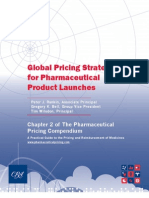 Global Pricing Strategies for Pharmaceutical Product Launches