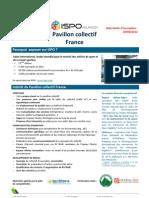 ISPO 2013_Présentation et bulletin de participation