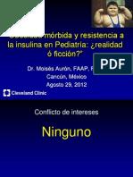 Obesidad Morbida y Resistencia a La Insulina en Pediatria
