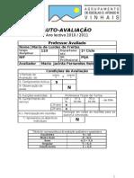 Ficha Auto Avaliacao