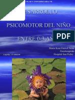 desarrollo psicomotor en niños