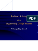 Probsolv2010 - Engineering Design Processes Review