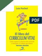 Curriculum Vitae Luis Puchol