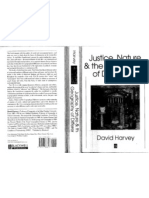 David Harvey - Justice, Nature, And the Geography of Difference