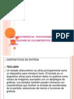 Las Caracteristicas , Funcionamiento y Precuaciones de Los dispositivos de salida (pendrive)