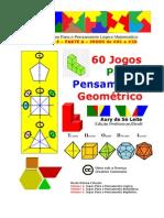 3A - 60 Jogos Para O Pensamento Geométrico - JLOGC #01 a #20