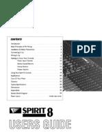 Spirit8 User Guide