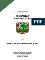 Modul Blok 2.1 Pengantar Epidemiologi FK Unand