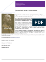 A Biography of Jacques Sevin, Founder of Catholic Scouting