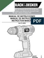 Black&Decker LD108 User Manual