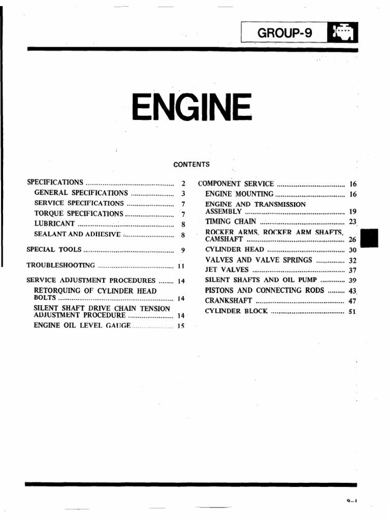 Engine 4g54 | Piston | Transmission (Mechanics)