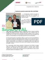 04-09-12 Boletin 561 Autoriza Roberto Sandoval Aumento Salarial Del 14% Al SUTSEM