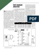 Battery Charger Cum Voltage Analyser