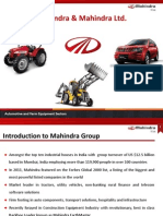 Mahindra Earthmaster - An Introduction