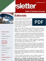 Newsletter  T&P N°61