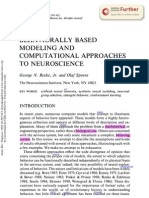 Modeling and Computational Approaches and Neuro