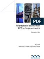 5237 Potential Cost Reductions in Ccs in the Power Sect