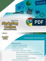 Introduccion Seminario Marketing Digital