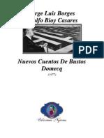 1977 - Nuevos Cuentos De Bustos Domecq (Colaboración Con Adolfo Bioy Casares)