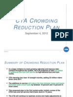 CTA Crowding Reduction Plan