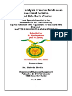 Final - Synopsis of Mutual Funds