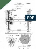 Homopolar locomotive railway Alberto Serra Valls patent  3616761