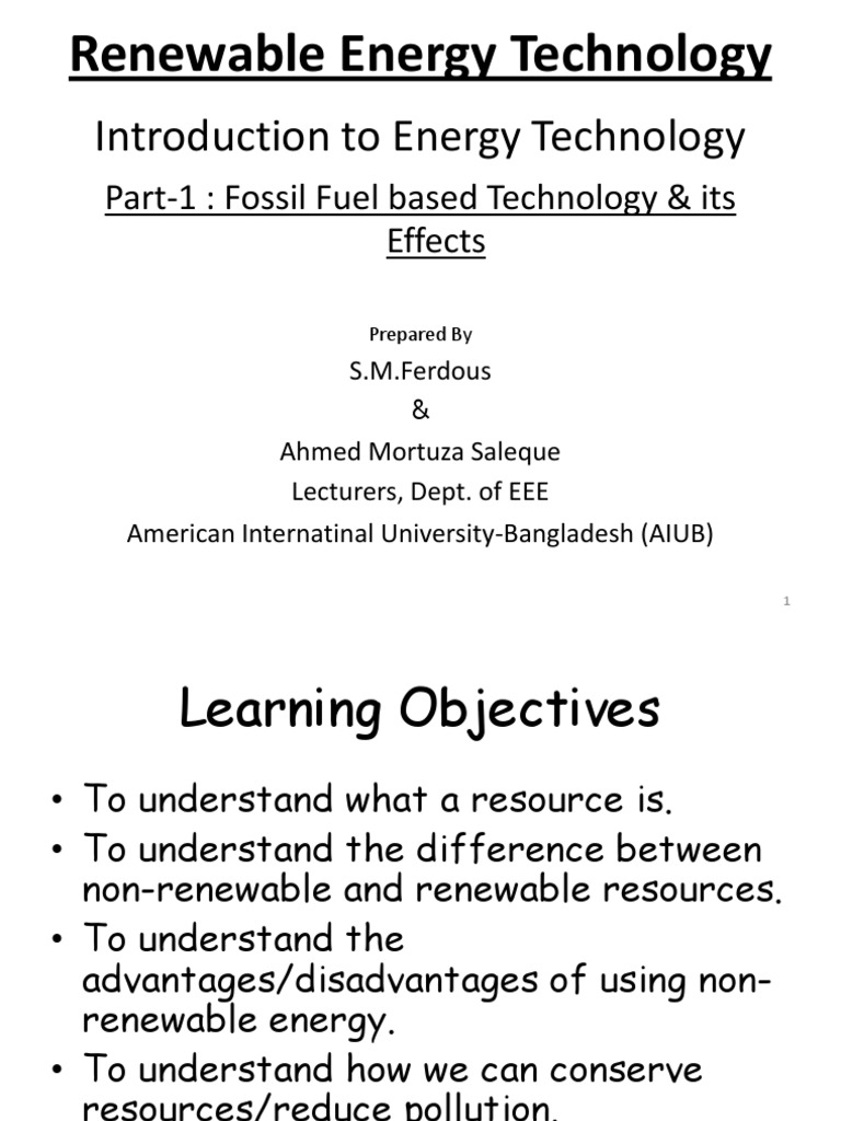 renewable resources and nonrenewable resources difference