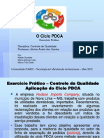 PDCA, UM CASO NO SETOR DE PIKING