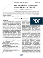 Reliability Tests and Thermal Modelling for Inverter in Hybrid Electrical Vehicles