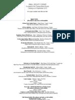2012 9 SCC Catalog Updated