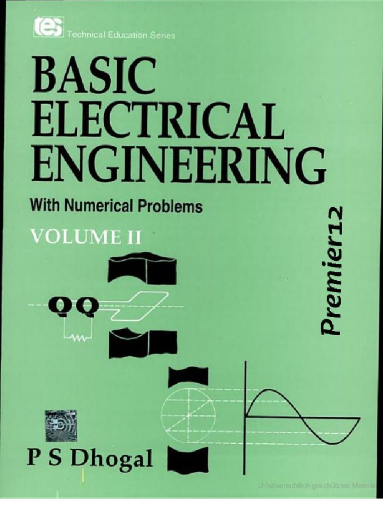 Diploma Electrical Engineering Books Free Download Pdf