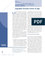 Demographic Security Comes of Age
