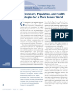 Environment, Population, and Health