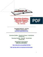 Enochian Entities- Ohorela Papers 1 by SaToGa