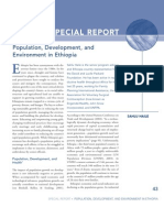 Population, Development, and Environment in Ethiopia