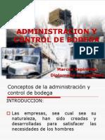 Administracion y Control de Bodega